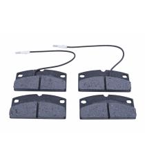 Conjunto de 4 almofadas frontais 25mm LIGIER / MICROCAR / AIXAM / CHATENET / JDM / BELLIER