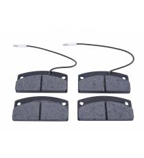 Conjunto de 4 pastilhas de travão dianteiras de 30 mm Aixam / Microcarro / Ligie